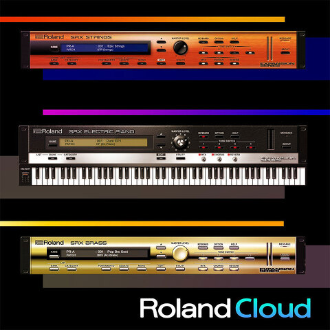 Roland / SRX ELECTRIC PIANO, SRX STRINGS, SRX BRASS