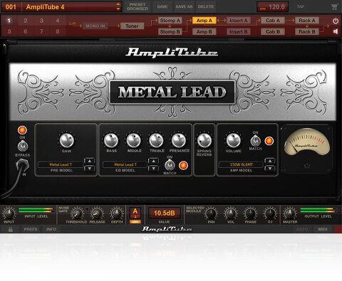 IK Multimedia /  AmpliTube Metal 한시적 무료