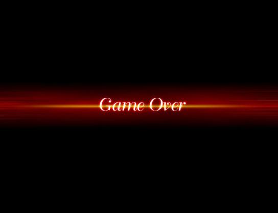 XP 기본 게임오버 화면 축소판 (변, RPG VX/Ace용)