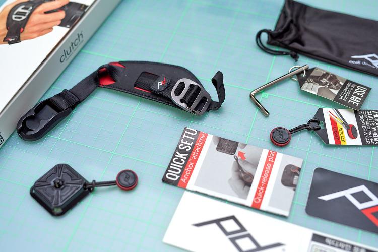 픽 디자인 클러치 카메라 핸드 스트랩 Peak design Clutch Camera Hand Strap 개봉기