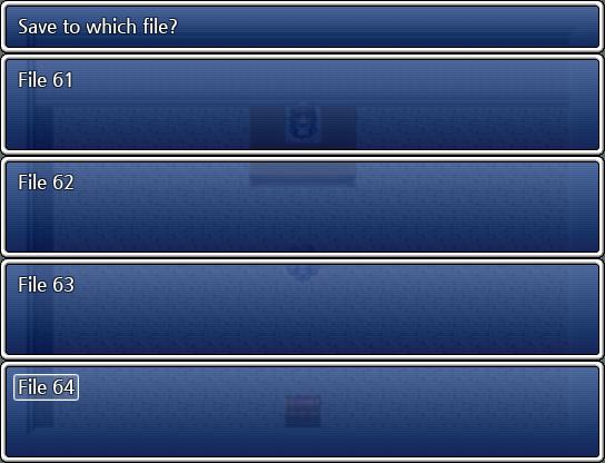 세이브 파일 개수 조정 (RPG VX Ace용)
