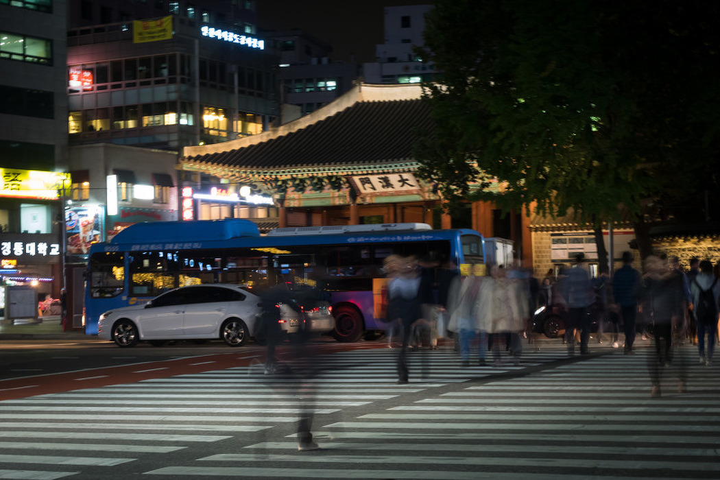 도시의 밤