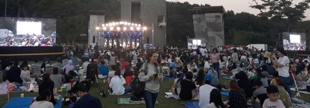 광교호수공원에서 펼쳐진 <수원재즈페스티벌>