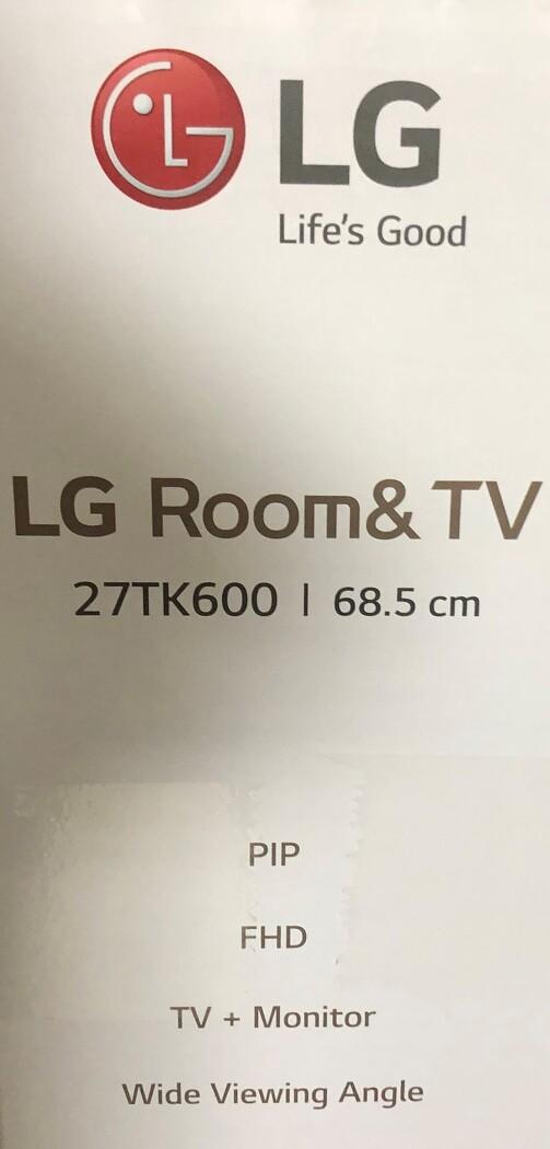 27인치 LG TV, 27TK600 언박싱!