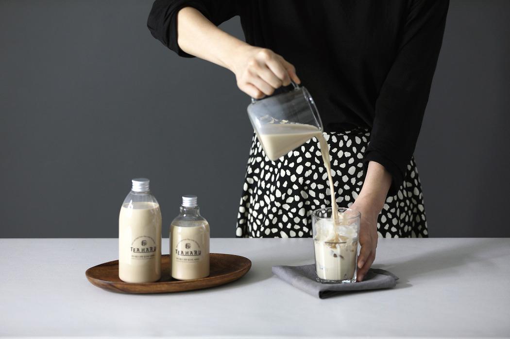 [대전 제품사진] 부드럽고 진한 밀크티, 티하루..
