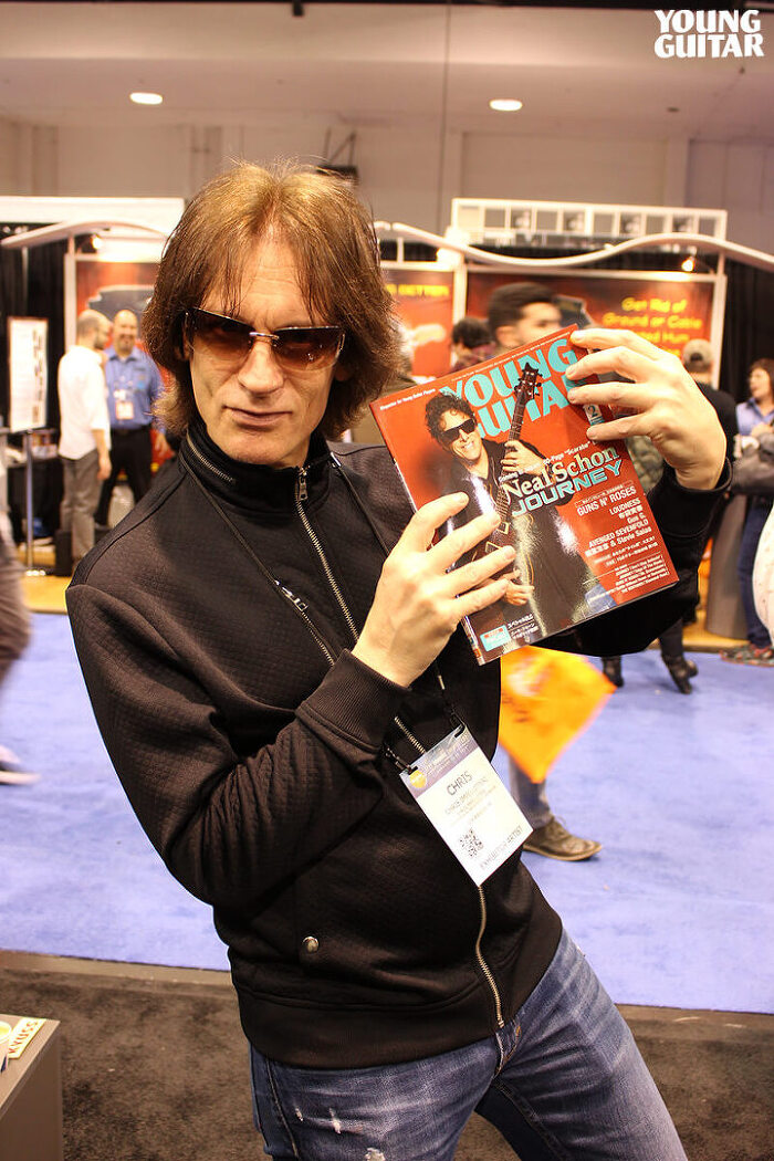 NAMM Show 2017 with Chris Impellitteri