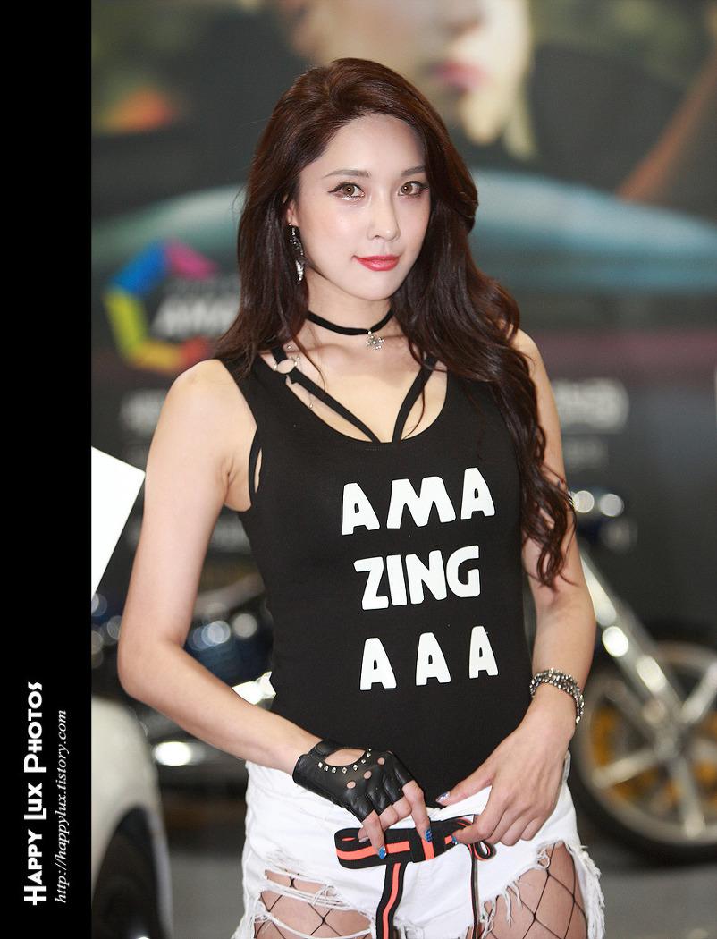 2017 오토살롱 No 80 (모델 송가람)