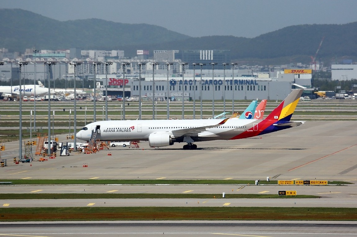 Asiana Airlines / A350-900 / HL8078