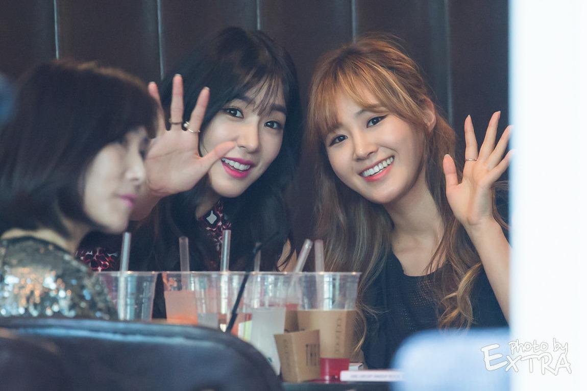 150602 '걸그룹 메이크업북' 출판기념회 소녀시대_티파니,유리