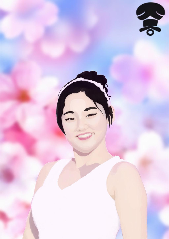 [일러스트] 아이오아이 [I.O.I] - 강미나 - 프로듀스101