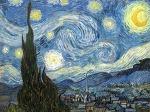 고흐의 별이 빛나는 밤에 (The Starry Night) 그림의 밤하늘 재현
