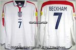"03/05 England Home L/S No.7 ""Beckham"" (SOLD OUT)"