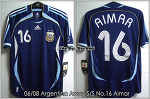 04/06 Argentina Away S/S No.16 Aimar (SOLD OUT)