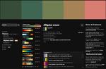 색상 디자인 가이드 - Kuler 디지털 색상환