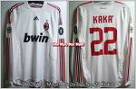 08/09 AC Milan Away L/S No.22 Kaka Player Issue