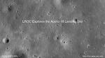 Apollo 16호의 착륙지 탐험 동영상 (소리 있음)