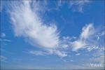 어섬의 파란 하늘...