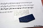 대작업! 알파벳 스탬프 만들기 +_+