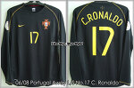 06/08 Portugal Away L/S No.17 C.Ronaldo (SOLD OUT)