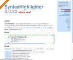 SyntaxHighlighter 3.0.83
