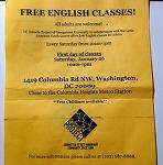 워싱턴 무료 영어수업 2 - DC SCHOOLS PROJECT
