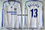 06/07 Chelsea Away L/S No.13 Ballack Player Issue