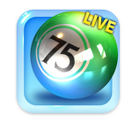 아이폰 게임 : 빙고 스타 라이브 75(Bingo Star Live 75) 출시했어요~