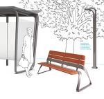 BMW Group DesignworksUSA & Landscapeforms의 공공 디자인 연구