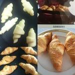 홈플러스 Croissant (크로아상, 크로와상) 생지로 바로 굽기