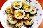 훈제 닭가슴살 김밥 - 다이어트김밥