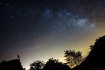 여름철 은하수와 유성 (Summer Milky Way and meteor)