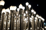 at LACMA with Alan and Jen