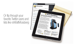 아이패드를 위한 소셜미디어 앱 - Flipboard - 전자 매거진으로 진화