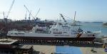 해양경찰의 1500톤급 고속경비함