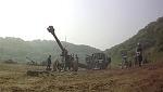 155mm KH-179 견인포 / K-9 자주포 실사격훈련 촬영