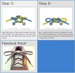 신발끈 묶는법...