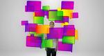 사람의 동작과 설명 CG를 합성하여 설명한 영상