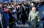 김현중 전역식 팬들