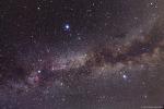 여름철 대삼각형과 은하수 (The Summer Triangle and Milky Way)