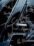 어벤져스(The Avengers) 배우들이 자신의 캐릭터 이름으로 한 싸인.