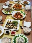 직원들을 위해 만든 집들이초대음식 *^^*