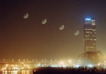 달과 63빌딩 (Moon and 63 Building)