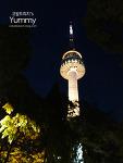 남산타워에서 서울 야경감상