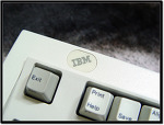 IBM Model M SpaceSaver 1392464 :: 가장 아끼는 텐키리스 키보드