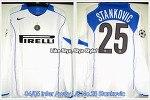 04/05 Inter Away L/S No.25 Stankovic UCL Player Issued (SOLD OUT)
