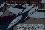 F-15 Strike Eagle : Microprose 1985