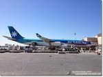 한폭의 명화 같은 A340