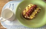 [160218]식빵 핫도그 아침식사