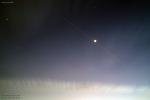 Venus and ISS 금성과 국제우주정거장