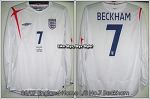 "05/07 England Home L/S No.7 ""Beckham"" (SOLD OUT)"